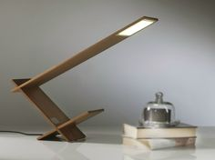 OLED wooden table lamp K BLADE by Riva 1920 | design Maurizio Riva, Davide Riva  n@casadesignboston.com