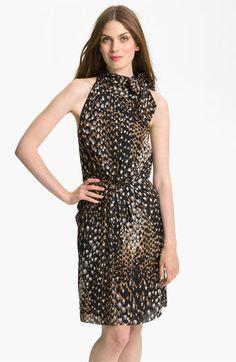 Trina Turk 'Madame Blanche' Silk Halter Dress available at #Nordstrom
