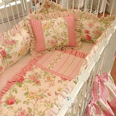Stephanie Anne Crib Bedding