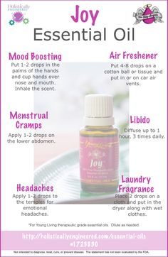 6 Ways to Use Joy Essential Oil