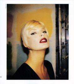 Stephane Marais Polaroid Linda Evangelista