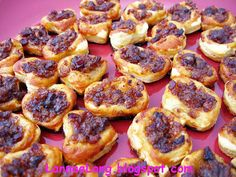 Bacon Jam Puff Pastries