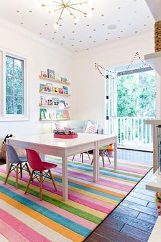 17 Lovable and happy kids playroom ideas- 17 Liebenswerte und Fröhliche Kinder Spielzimmer Ideen 17 Lovable and Happy Kids Games Room Ideas # - Playroom Storage, Playroom Design, Playroom Decor, Playroom Ideas, Playroom Paint Colors, Kids Playroom Rugs, Sunroom Playroom, Playroom Curtains, Playroom Table