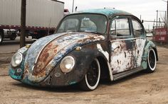 Special cars: Volklswagen Beetle / Bug Rat Look