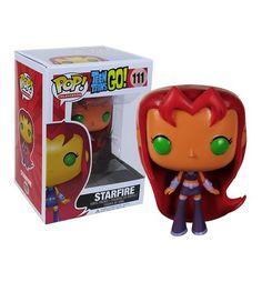 Teen Titans Go Starfire Pop Vinyl Figure.  On my wish list. I want all the Teen Titans.