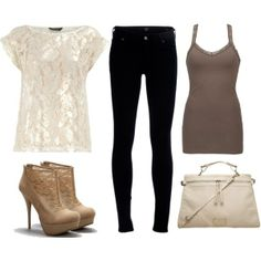 natural colors, created by tania-olivas-guerrero on Polyvore