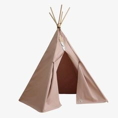 The Nevada Teepee in dark bloom pink from Nobodinoz is the perfect play tent for your little ones. These adventurous adorable tipis have feather details will create adventure Nevada, Wooden Feather, Pink Official, Cushions To Make, Camping Checklist, Bean Bag, Amazing Gardens, Outdoor Gear, Barcelona