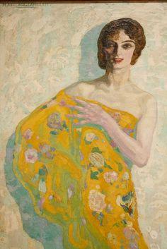 Papallona de nit, 1913, by Hermen Anglada Camarasa