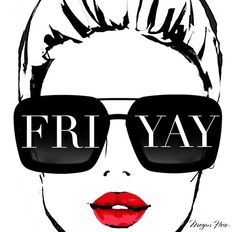 Fri-yay! Illustration by Garence Dore