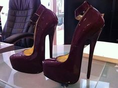 Bedroom shoes :-P GORGEOUS color !! Plum another fav color of mine!