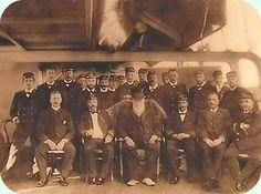Paul Kruger aboard the pantserdekschip Hr. Gelderland on his way to Europe… Armed Conflict, African History, South Africa, War, Colour, Camps, Trek, Journey, Color