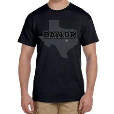 2015 Blackout Short Sleeve Tee // The official Baylor Football #EveryoneInBlack shirt!