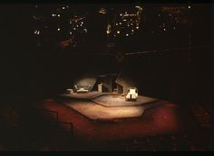 Savages. National Arts Centre. Scenic design by Jack Simon. 1980