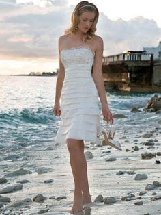 Short wedding dress - Short wedding dresses uk I think Natasha would look beautiful in this.
