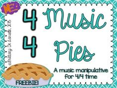 I created this file to help teach my 3rd grade students about time signatures. Your students will have an easier time understanding how notes fit into common time (4/4) and have a great time doing it! This file is just a short sample of my large Music Pies file that you can purchase HERE.