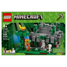 LEGO Minecraft - 21130 The Nether Railway. LEGO Minecraft toys are compatible with all LEGO construction sets for creative building. Lego Minecraft, Minecraft Video Games, Minecraft Houses, Legos, Jungle Temple, Gumball, Kids Toys For Boys, Shop Lego, Lego Craft