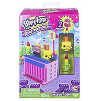 Shopkins Kinstructions Mini Pack Building Set 62 Pieces - Checkout Lane with Lippy Lips and Polly Polish