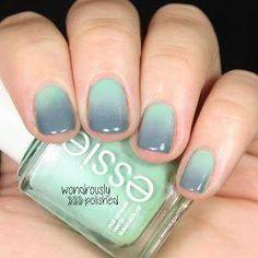 Diseños de uñas degradadas