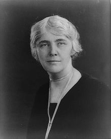 #33 Lou Henry Hoover(March 29, 1874- January 7, 1944)was the wife of President of the U S Herbert Hoover and First Lady,1929-1933.  Both Hoover and Lou Henry were aged 24 when they married on February 10, 1899 During World War I, Mrs. Hoover helped him in providing relief for Belgian refugees. As First Lady, she oversaw construction of the presidential retreat at Rapidan Camp in Virginia. She was the first First Lady to make regular radio broadcasts.The Hoovers had two sons