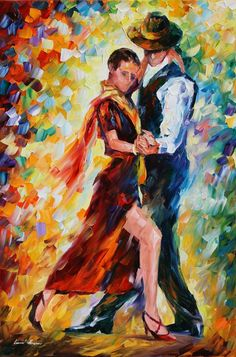 Tutt'Art@ | Pittura * Scultura * Poesia * Musica |: Leonid Afremov 1955 | The Impressionist Lovers