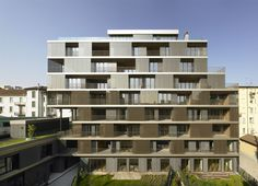 Completed in 2011 in Milan, Italy. Images by Amendolagine Barracchia. The operation calls for the urban renewal of the area and its conversion for residential use. The total reconfiguration of the volumes of the area...