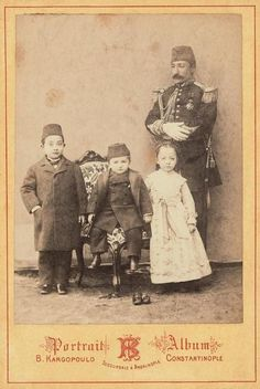 An Ottoman Princesses and Princes (Osmanlı Şehzadeleri ve Sultan)