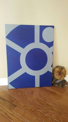 Star Wars R2 D2 Canvas Painting by DrDecals on Etsy