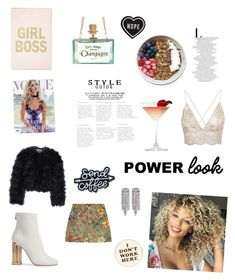 """""""Pover look"""" by emese-knolmar on Polyvore featuring Salvatore Ferragamo, Gucci, Chelsea28, Whiteley and ban.do"""