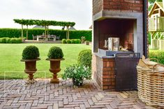 Fotografie: www.passiefoto.nl Covered Porches, Outdoor Decor, Home Decor, Courtyards, Lawn, Decoration Home, Room Decor, Home Interior Design, Home Decoration