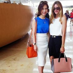 The Olivia Palermo Lookbook : Olivia Palermo in Singapore