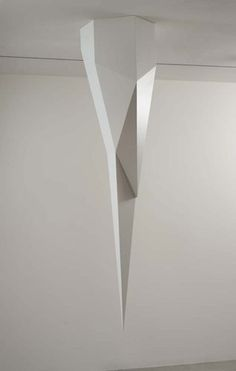Hanging Complex Form, 1989   painted wood © Sol LeWitt