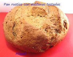 pan rustico de avellanas