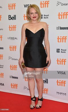 Actress Elisabeth Moss attends 'The Bleeder' premiere during the 2016 Toronto…