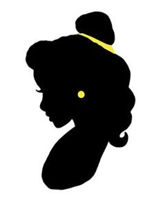 beauty and the beast silhouette