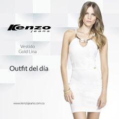 Si combinas un vestido blanco con unos buenos accesorios, lograrás conseguir un #look sorprendente y con mucho estilo #KenzoJeans www.kenzojeans.com.co
