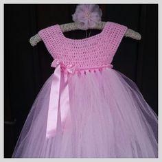 Crochet Tutu Dresses | Lil Joy Tutu Dresses, Girls Dresses, Flower Girl Dresses, Crochet Tutu Dress, Crocheting, Crochet Patterns, Joy, Wedding Dresses, Fashion