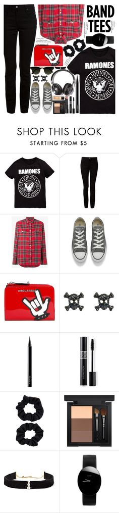 """""""A touch of the grunge"""" by drigomes ❤ liked on Polyvore featuring Alexander Wang, Balmain, Converse, Dsquared2, Pippa, MAC Cosmetics, Christian Dior, Accessorize, Arbonne and Anissa Kermiche"""