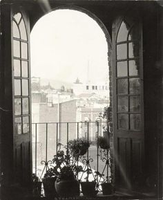 Tina Modotti - View from a Window, Mexico City, ca. 1927