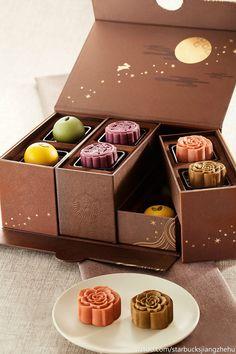 星巴克月饼礼盒