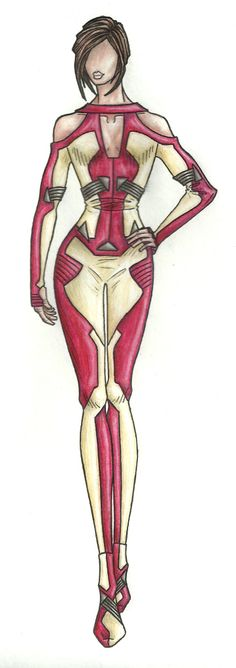 Iron WoMan -- Right up my alley (If only I could sew...)