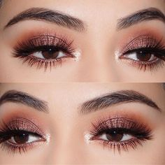 #brown #eyeliners #eyesand #Eyeshadow Looks for brown eyes #eyeshadows #flattering #rounded We rounded up the five most flattering eyeshadows for brown eyes—and eyeliners... We rounded up the five most flattering eyeshadows for brown eyes—and eyeliners, too!—with makeup ideas and recommendations straight from top makeup ... #eyeshadow #eyemakeup #EyeMakeupSilver