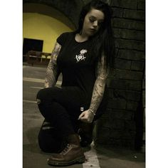 """Murderous"" Women's Tee Available at www.crmc-clothing.co.uk 