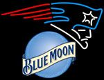 Blue Moon New England Patriots NFL Neon Sign, Blue Moon with NFL Neon Signs | Blue Moon Neon Beer Signs & Lights. Makes a great gift. High impact, eye catching, real glass tube neon sign. In stock. Ships in 5 days or less. Brand New Indoor Neon Sign. Neon Tube thickness is 9MM. All Neon Signs have 1 year warranty and 0% breakage guarantee.