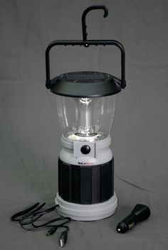 Solar Crank Lantern - 12 LED lantern is extremely safe for use indoors, such as a tent or RV, especially by children.  No fuel to spill and no carbon monoxide or fire danger. Solar and dynamo hand crank powered,  Full solar charge provides up to 6 hours of use,  1-3 minutes of winding provides up to 30 minutes of use,  12 LED Lantern operates on high (12 LEDs) or low (6 LEDs),  Fold away hook to hang #EmergencyPreparedness #ThriveLife #beprepared #survival #camping