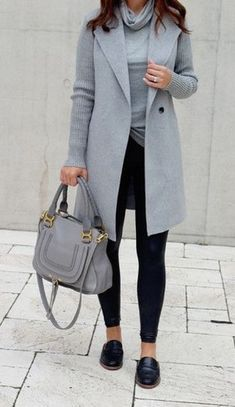 42 Casual and Fashionable Winter Business Outfits for Women