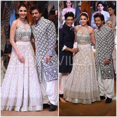 Celebrity Style,manish malhotra,anushka sharma,shahrukh khan,Mijwan Show 2017