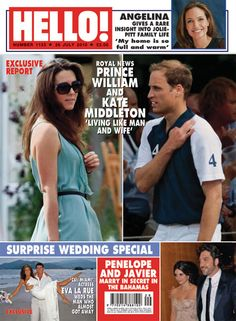 Hello Magazine July 26, 2010 Prince William & Kate Middleton