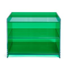 Glas Italia Green Low Bookcase from ABC Carpet and Home