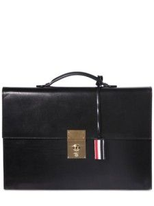 c937c2a02b69 Thom Browne Brushed Leather Briefcase. Let s Go and Shop · Bags