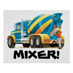 Huge Mixer Poster